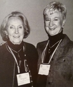 Doreen Hall (l) and Wilma Salzman
