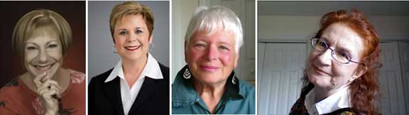 Sue Mueller, Julie Scott, Judith Thomas-Solomon,Danai Gagne